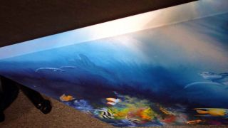 Robert Katona Turtle Reef Original Acrylic Painting Art on Canvas