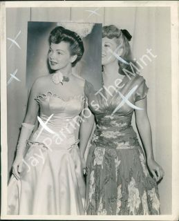 AFA 963 Vintage Published Photo Kathryn Grayson Dinah Shore