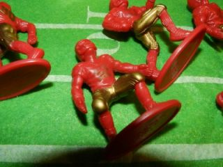 Complete Kaskey Kids Football Guys Action Figures Sports Play Set Toy