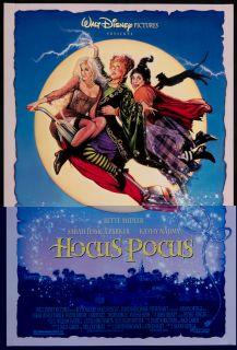 Hocus Pocus 1993 Original U s One Sheet Movie Poster