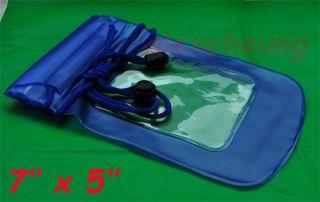 Mobile Waterproof Dry Bag Kayak Floating Camping Blue