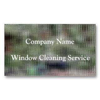 TRADES, WINDOW CLEANING BUSINESS CARD TEMPLATE