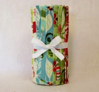 Moda Kate Spain 12 Days of Christmas Quilt Fabric 6 Strip Roll (12 PC
