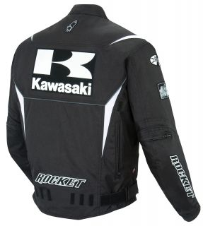 Joe Rocket Black Kawasaki Supersport Jacket Small S