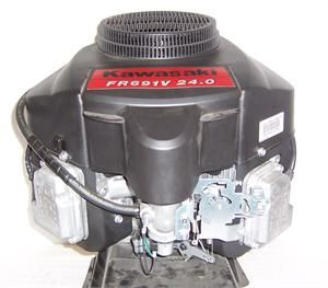 Kawasaki Vertical 24 HP V Twin OHV Engine 1 x 3 5/32 #FR691 A52
