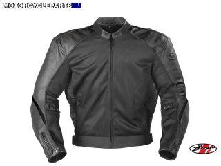 Joe Rocket Super Ego Leather Jacket Black XL New