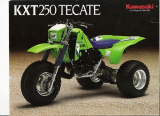 1986 87 Kawasaki KXT250 KXT 250 Tecate OEM NOS Front Fender
