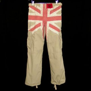 KEANAN DUFFTY ENGLANDS DREAMING BRITISH FLAG / UNION JACK PANTS