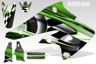 1988 2004 Kawasaki KX 500 Graphics Kit Decal Sticker Shear Decal MX