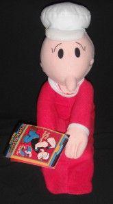 MWT 2004 Kellytoy Plush Sweet Swee Pea Popeye Olive Baby Stuffed Doll