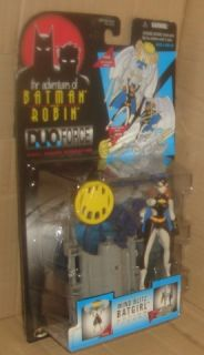 Batman Animated Duo Force Wind Blitz Batgirl Figure