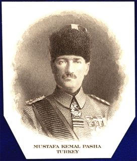 American Bank Note Co Mustafa Kemal Pasha Turkey