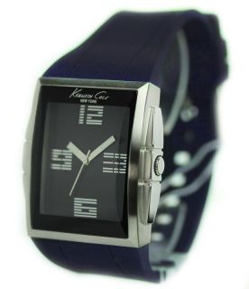 Kenneth Cole New York Mens Sport Black Dial Stainless Steel Case