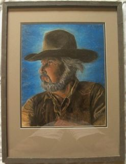 Kenny Rogers Portrait Original Penley