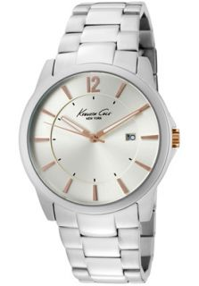 Kenneth Cole Watch KC3960 Mens Champagne Dial Stainless Steel