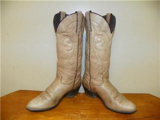 Kenny Rogers Womens Cowboy Boots Size 7 1 2 M