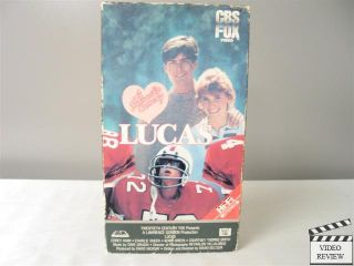 Lucas VHS Corey Haim Charlie Sheen Kerri Green Courtney Thorne Smith