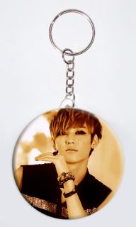 Kevin Woo Neverland Dongho Hoon Eli Korean Singer 1 Key Chain Key Ring