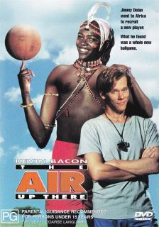 The Air Up There New SEALED DVD R4 Kevin Bacon