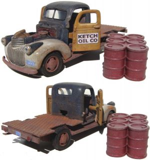 Scale Finetrains Scratch Bashed Built 1941 Chevrolet Oil Truck On30