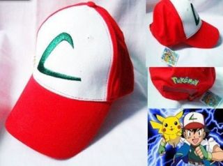Features of Pokemon Ash Ketchum hat free size