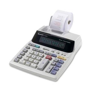Sharp EL1801 12 Digit 2 Color Printing Calculator