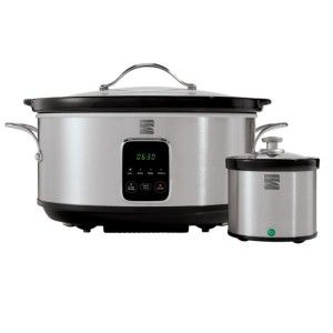 Kenmore 7 Qt Stainless Steel Slow Cooker