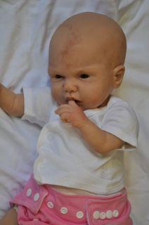 Kenna Simone Michelle Fagan Solid Silicone Baby Doll Cloth Body