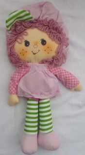Kenner 1981 Unused Rasperry Tart Rag Doll 15 Strawberry Shortcake