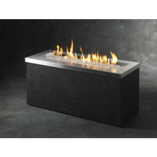 Complete Outdoor Firepit Table Self Contained Fire Gems Glass Elegant