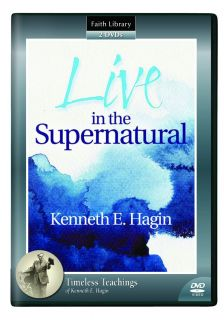 Live in The Supernatural by Kenneth E Hagin 2 DVD Set SRP $26 95