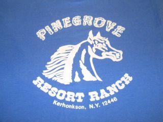 PINEGROVE RESORT RANCH HORSE HORSES KERHONKSON NEW YORK NY t shirt XL