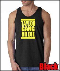 or Die Tank Top Tee Shirt Wiz Khalifa Hip Hop Rap YMCMB Wayne