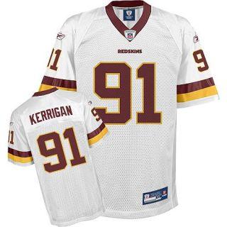 Washington Redskins XL Ryan Kerrigan NFL Replica Football Jersey white