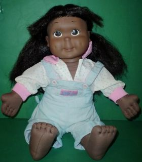 Vintage Playskool My Buddy Kid Sister Doll Black AA