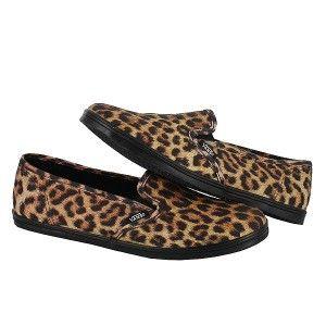 Pro Womens Sz 8 Leopard Black Classic Sneaker Casual Shoe New