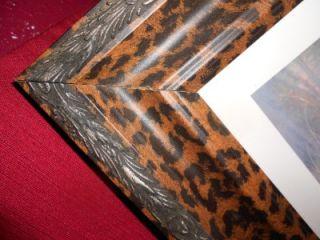 Animal Print Frame Sisters of Serengeti by Ruane Manning