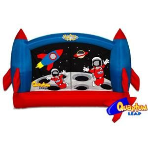 Leap Inflatable Bounce House Space Theme Birthday Gift for Kids