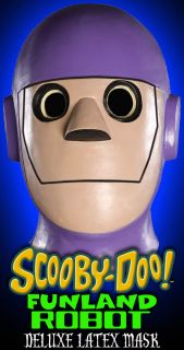 Scooby Doo Where Are You  Funland Robot Deluxe Latex Mask