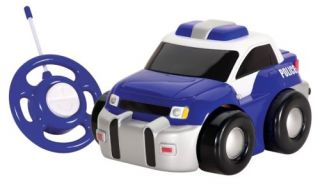 Kid Galaxy My 1st RC GoGo Police Car Requires 3 AA Batteries and 1 9V