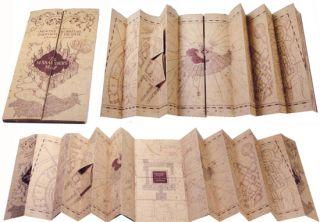 Harry Potter Parchment Marauders Marauders Map Noble