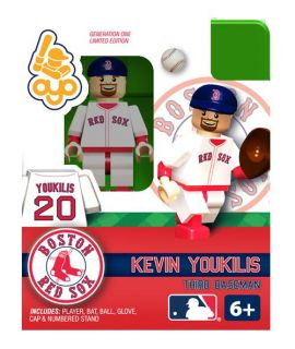 Kevin Youkilis Oyo Mini Fig Figure Lego Compatible Boston Red Sox NIP