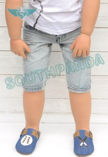 KP005 Baby Blue Naive Boy Kids Jeans Pants Age 2 3