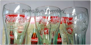 COCA COLA COKE MCDONALD 2011 Retro Glasses COMPLETE SET   125th