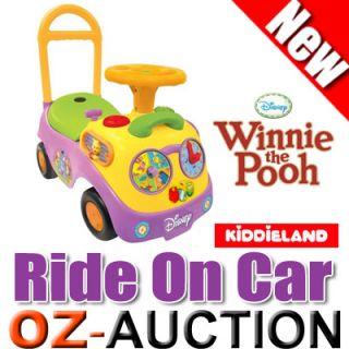 Kiddieland Kids Children Ride on Car Winnie The Pooh My First Race Toy