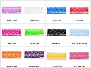 New Silicone Keyboard Skin Film Cover Compatible with Apple MacBook