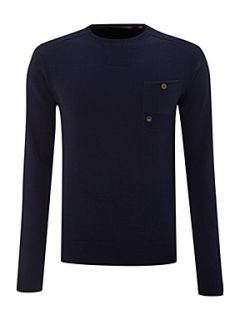 Duck and Cover Crew neck jumper Royal Blue