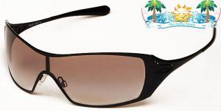 New Womens Oakley Sunglasses Dart Black Black Clear Gradient 05 660