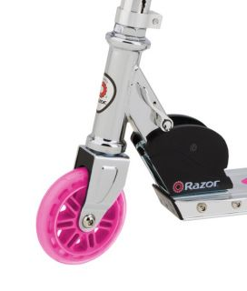 Razor A Push Kick Kids Folding Scooter Pink 13003AW PK