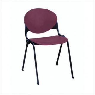 KFI Seating Plastic Stacking Chair Cool Grey 2000 P06